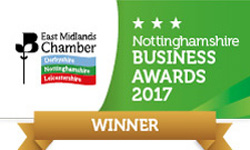 East Midlands Chamber Business Awards Winner