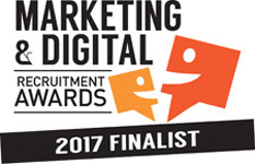 Marketing and Digital Recruitment Awards Finalist 2017